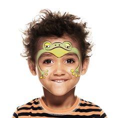 Cómo pintar una cara de rana | Snazaroo.es