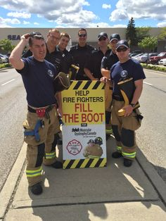 Guelph firefighters fill boots to raise money for Muscular Dystrophy - 570 NEWS