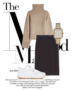 Untitled #1 by mette-heldager-sorensen on Polyvore featuring polyvore, fashion, style, Khaite, Max&Co., Reebok, Marc Jacobs and clothing
