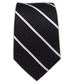 Grenafaux Track Stripe - Black/White (Skinny) | Ties, Bow Ties, and Pocket Squares | The Tie Bar