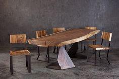 tavolo legno massello grezzo - Cerca con Google