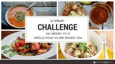 Join The Challenge   It's no secret that a whole-food, plant-based diet is the fast track to over-all health and weight loss. The PROBLEM is that we live in a world where junk food is cheap and plentiful. How many times have you started a clean food diet only to fold? Join the