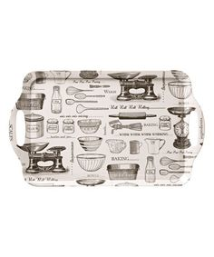 Large Open-Handled Vintage Baking Tray by Ulster Weavers #zulily #zulilyfinds
