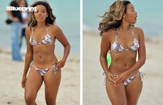 Spotted: Angela Simmons Flaunts Beach Body
