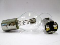 12v 45/40w BA20D Asymmetric Motorbike Headlight Bulb R396