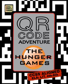 QR Code Adventure: The Hunger Games!  Analyze, Evaluate, and Understand with QR codes, task cards, and worksheets ($4.75)