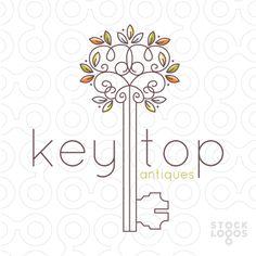 ornate garden tree key