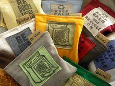 organic lavender reusable dryer sheets