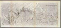 Rio Colorado of the West, Joseph C. Ives - ATLAS OF PLACES