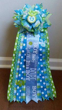Custom Baby Shower Corsage Large Hospital Nursery Door Decor