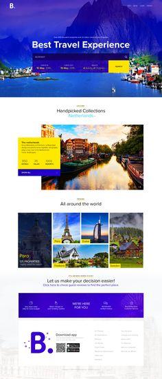 Redesign concepts for popular websites #6