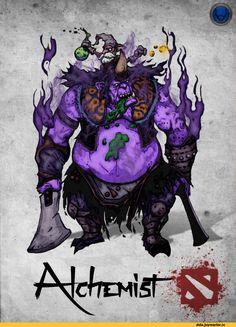 #Dota2 xXKazeshiniXx,Jijimumu,Razzil Darkbrew the Alchemist,Dota,фэндомы,Dota Art,Игровой арт,game art,Игры