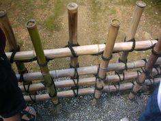 Kinkakuji, Traditional bamboo fence