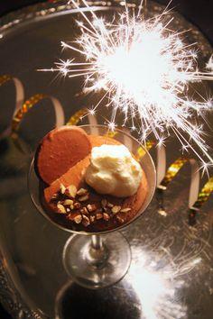 Chokladmousse med baileys och kaffe