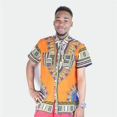 Dashikiage African 100% Cotton - Dashiki Shirts   #trousers #pants #pantsuit #trousersuit #dashiki #dashikiafricanfashion #men #mensfashion #mensoutfits #menssuits #wakanda #wakandaforever #loosepants #blackpanther #blackpanthermovie #blackpantherfanart #menclothes #menclothing #clothing #clothingbrand #clothingaccessories #shopping #shoppingonline #shopstyle #shopthelook #africanfashiondresses #africandress #music  #webstagram #style #hair #fit #travel #instagram #l4l #funny #bestoftheday… African Attire For Men, African Men, African Fashion Dresses, African Dress, Dashiki Shirt, Loose Pants, Gentleman Style, Wordpress, Summer Outfits
