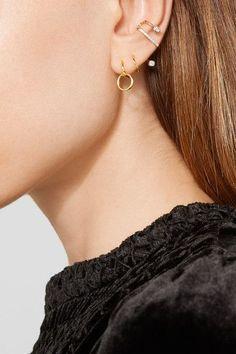 Fermoir crochet pour oreilles percées