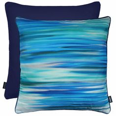 Rocco Interiors | Motion Blue Cushion