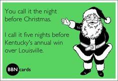 KY vs Louisville... Go Big Blue!!