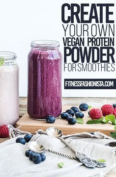 If you have been in search for a vegan protein powder to add to your morning smoothie look no further.  You can easily make your own vegan protein powder at home for a fraction of the cost of commercial protein powders.