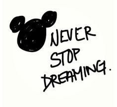 Because>> dreams is endless. sometimes,  the dream you had will come true.