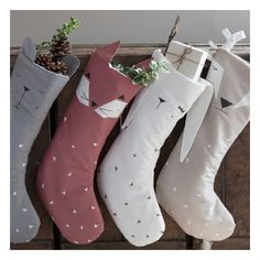 Chaussettes de Noël - Renard
