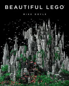 Millennial Celebration of the Eternal Choir at K'al Yne, Odan is a fantasy sculpture of 200,000 Lego pieces