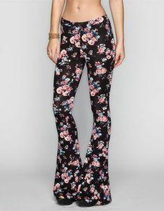 Floral Wide Leg Pants #tillys #fulltilt #flare