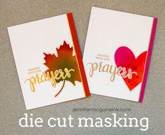 Die Cut Masking Video by Jennifer McGuire Ink