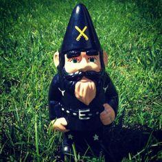 Lemmy Kilmister garden gnome | Dangerous Minds