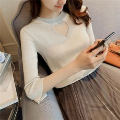 e940793780 Sweet Heart Hollow Out knitting SE11196 Use coupon code
