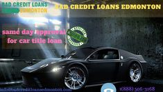 If you have a shortage of money. You can apply for car title loan by bad credit loan Edmonton. Bad credit loan Edmonton car title is a good tool to get the loan. With it, you can fulfill your needs. Bad credit car loans provide very fast service. You can get cash within one hour.