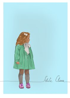 Little Girl  By Lise Clara