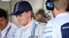 Susie Wolff - Wolff became the first woman to take part in a grand prix weekend for more than 20 years. - from BBC - April 2016
