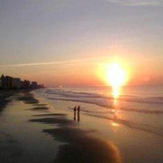 Mrytle beach sunrise..close ur eyes and smell the sea breeze