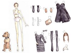 paper dolls - Bing Images