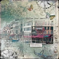 """""""Venice"""" from the gallery at Real Life Scrapped Credits on page in gallery"""