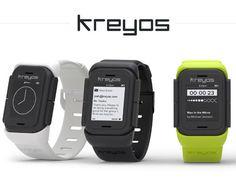 また1つ未来に近づいた!声やジェスチャーでコントロール可能なスマートウォッチ : KREYOS