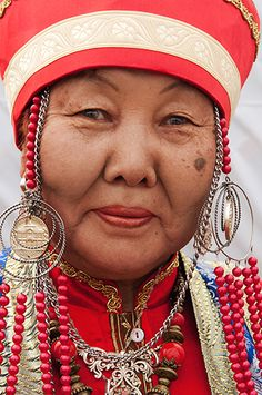 Buryat woman. *The Buryats, numbering approximately 500,000, are the largest indigenous (aboriginal) group in Siberia, mainly concentrated in their homeland, the Buryat Republic, a federal subject of Russia. They are the major northern subgroup of the Mongols.