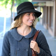 New Haven Hat - Felt Hats - Fall/Winter Hats - Women - jodi