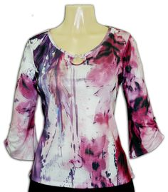 Impulse purple and pink top available at Ear Abstracts Boutique (714)996-3505 We ship!