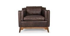 Worthington Oxford Brown Armchair