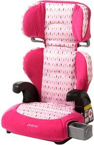 """Cosco - Pronto Belt-Positioning Booster Car Seat, Teardrop (Multi-Color) 