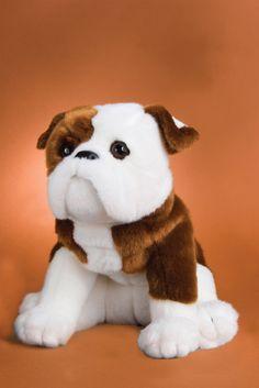 ea1c14d97ad Bulldog Plush Stuffed Dog (Hardy) 16 Inches by Douglas