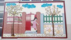 #Παππούς ζωγράφισε το #παλιό #αλφαβητάρι σε #σχολείο της #Πάτρας Street Art Graffiti, Blog, Painting, Philosophy, Home Decor, Google, Decoration Home, Room Decor, Painting Art