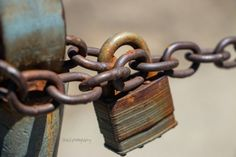 Bound By Chains macro art by #ShaidPhotography #macro #art #photography #photoprints #masterlock