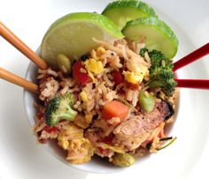 Vegan Or Vegetarian Or Not Spicy Thai Chicken Vegetable Fried Rice