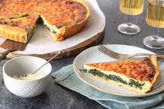 Spinaziequiche met ricotta – 5 OR LESS Love Food, A Food, Quiches, Vegetable Dishes, Tasty Dishes, Foodies, Favorite Recipes, Snacks, Healthy Recipes