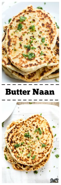 Famous Indian Butter Naan, great with Curries and Rice!