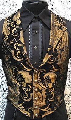 Remiel formal waistcoat I found 'Victorian Aristocrat Vest by Shrine Clothing Goth Steampunk Mens Jackets' on Wish, check it out! Steampunk Men, Steampunk Clothing, Steampunk Fashion, Gothic Fashion, Gothic Clothing, Steampunk Design, Outfits Casual, Mode Outfits, Fashion Outfits