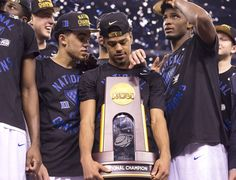 Tyus Jones, Quinn Cook and Justise Winslow